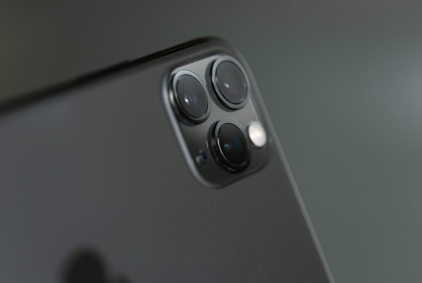 close up of iphone 11 camera